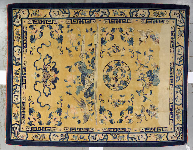 A Peking carpet China, size approximately 9ft. 5in. x 11ft. 10in.