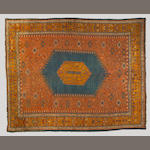 An Oushak carpet Anatolia, size approximately 12ft. 2in. x 15ft.