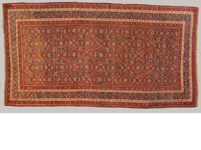 A Bakshaish carpet Northwest Persia, size approximately 7ft. 4in. x13 ft. 5in.