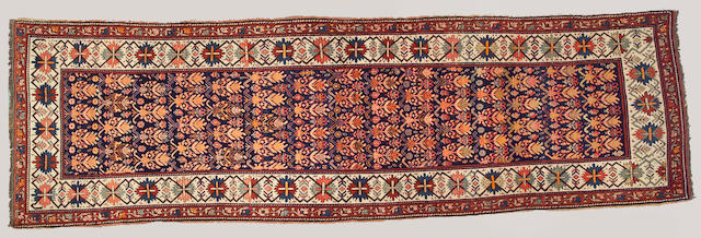 A Caucasian runner Caucasus, size approximately 4ft. 3in. x 13ft. 6in.