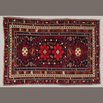 A Shirvan rug Caucasus, size approximately 3ft. 10in. x 5ft. 8in.