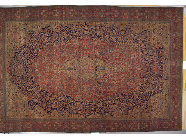 A Fereghan carpet Central Persia, size approximately 13ft. 10in. x 21ft.