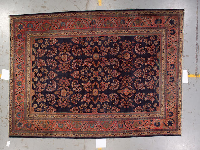 A Mahal carpet Central Persia, size approximately 9ft. x 12ft.