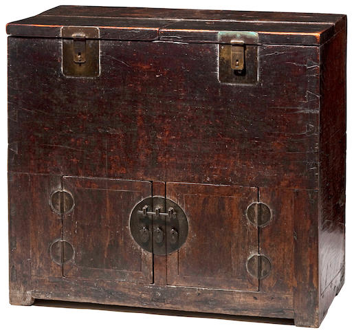 A yumu money chest, Qiangui 18th Century