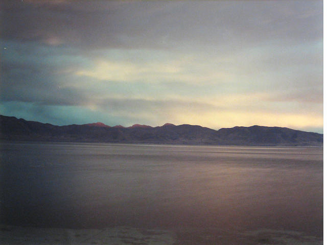 Richard Misrach (American, born 1949); Pyramid Lake #2;