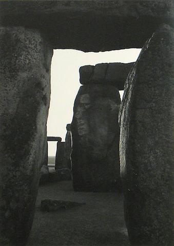 Paul Caponigro (American, born 1932); Stonehenge, #9 from Stonehenge Portfolio;