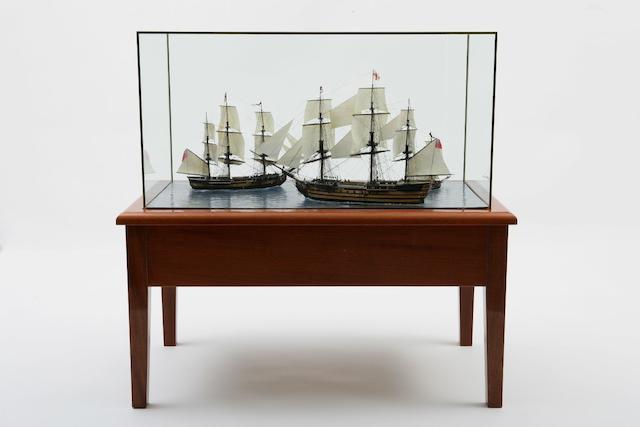 Bonhams : A diorama entitled
