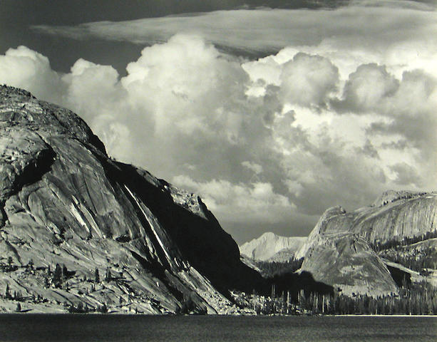 Ansel Adams (American, 1902-1984); Lake Tenaya, Yosemite National Park;