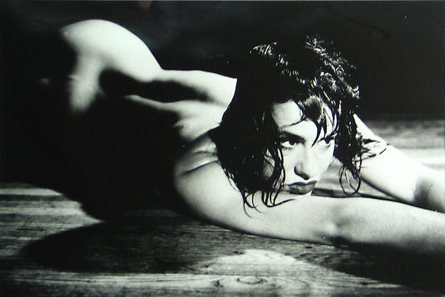 Richard Kern (American, born 1954); Linda Wet on Floor;