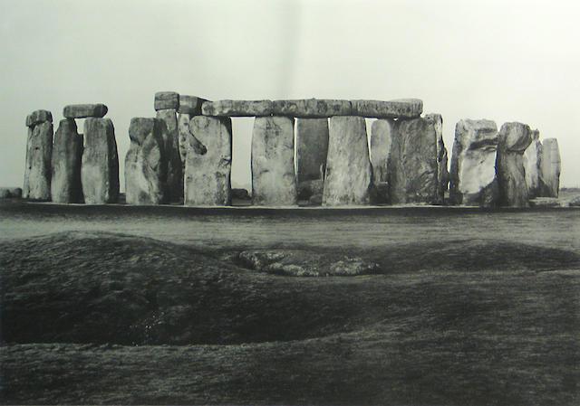 Paul Caponigro (American, born 1932); Stonehenge;