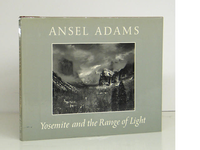 Ansel Adams (American, 1902-1984); Yosemite and the Range of Light;