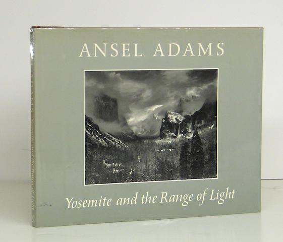 Ansel Adams (American, 1902-1984); Yosemite and the Range of Light;