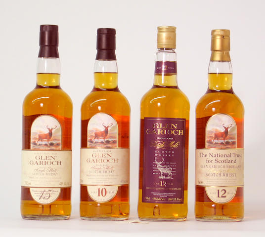 Glen Garioch-12 year old  Glen Garioch-12 year old  Glen Garioch-15 year old  Glen Garioch-10 year old