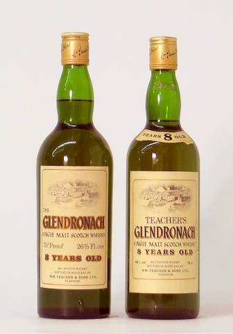 The Glendronach-8 year old  The Glendronach-8 year old