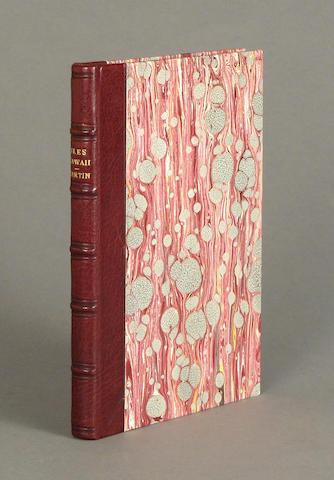 Martin, Wm. Catalogue d'Ouvrages Relatifs aux Iles Hawaii.... Paris: 1867.
