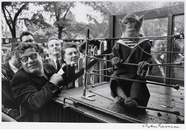 Robert Doisneau (French, 1912-1994); Les Animaux Supérieurs;