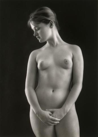 Ruth Bernhard (American, 1905-2006); Victorian Nude;