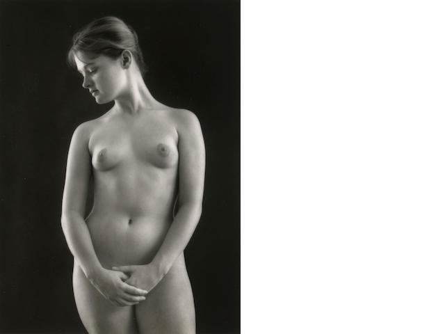 Ruth Bernhard (American, 1905-2006); Victorian Nude ;