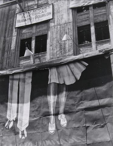 Manuel Alvarez Bravo (Mexican, 1902-2002); Dos pares de piernas (Two pairs of legs);