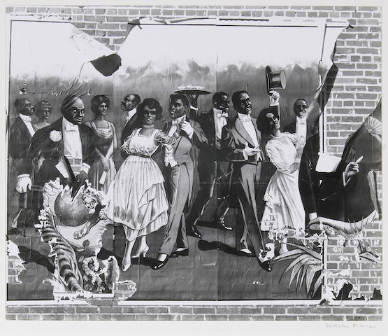 Walker Evans (American, 1903-1975); Minstrel Showbill;