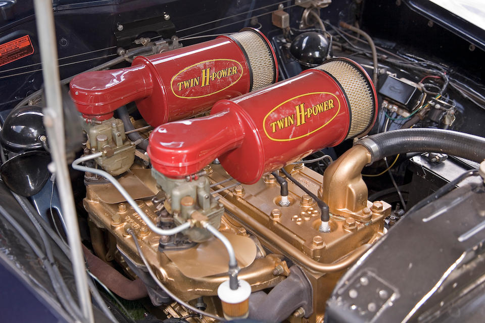 1951 Hudson Hornet Club Coupe  Chassis no. 7A50353Z