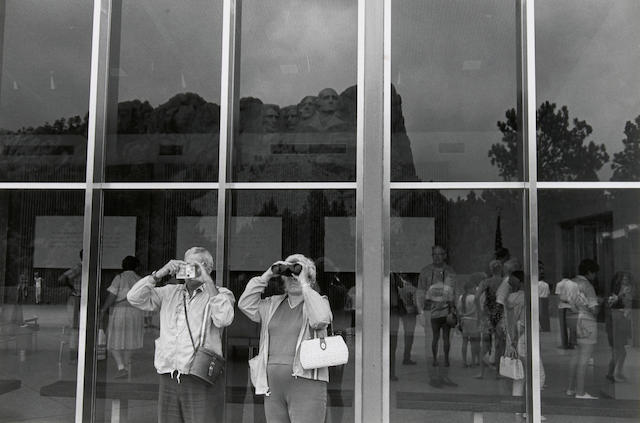 Lee Friedlander (American, born 1934); Mt. Rushmore;