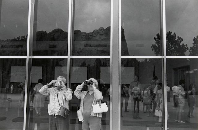 Lee Friedlander (American, born 1934); Mt. Rushmore;