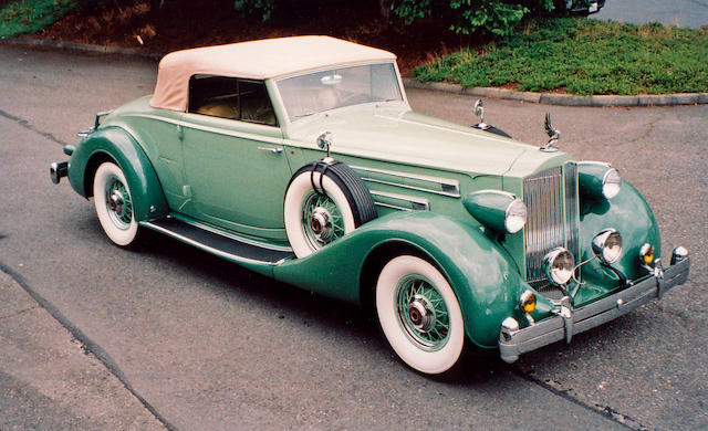 1935 Packard Series 1207 V-12 Convertible Coupe Roadster with Rumbleseat  Chassis no. 839-238 Engine no. 903111