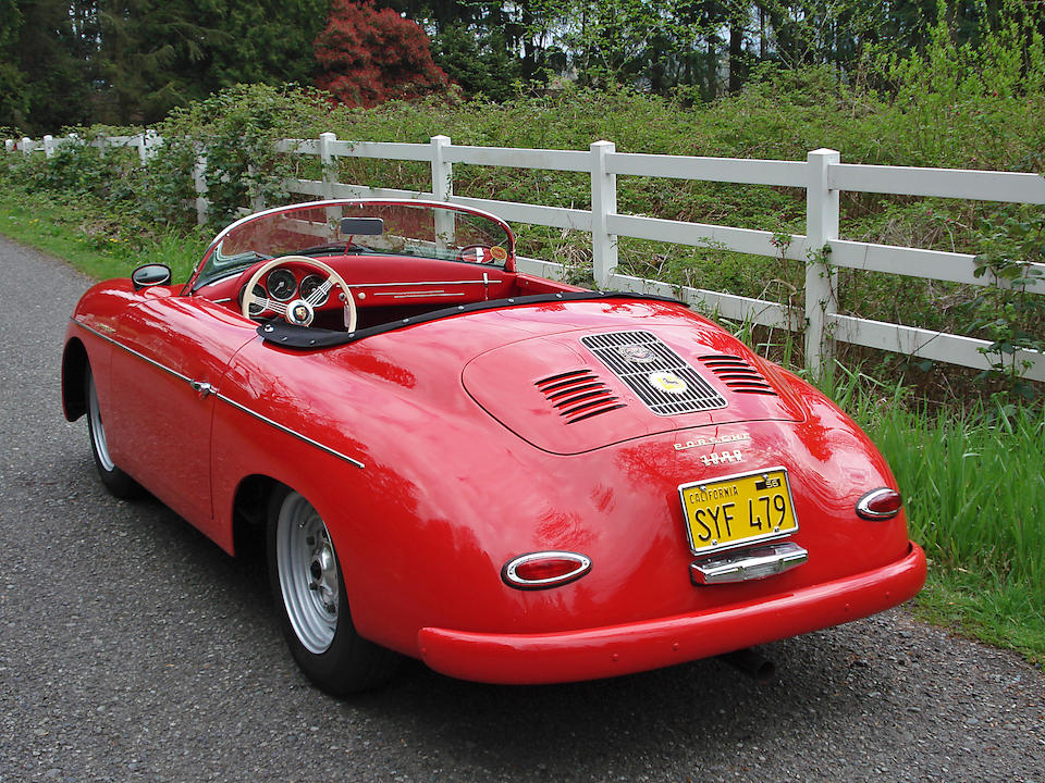 1957 Porsche Speedster Carrera GS/GT Re-creation