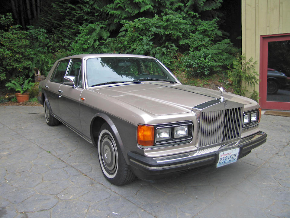 1989 Rolls-Royce Silver Spur Saloon  Chassis no. SCAZN02A4JCX23484