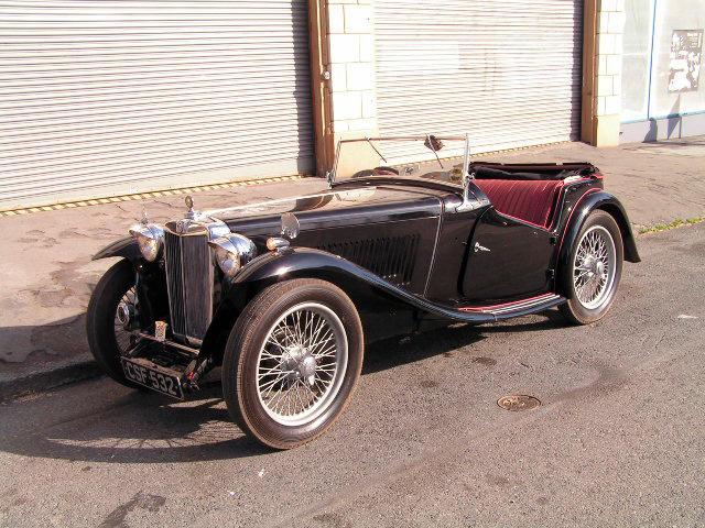 1938 MG TA  Chassis no. TC1440