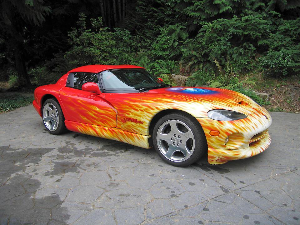 Custom $150,000 paintjob by Christian Riese Lassen,1999 Dodge Viper RT/10  Chassis no. 1B3ER65E4XV502964