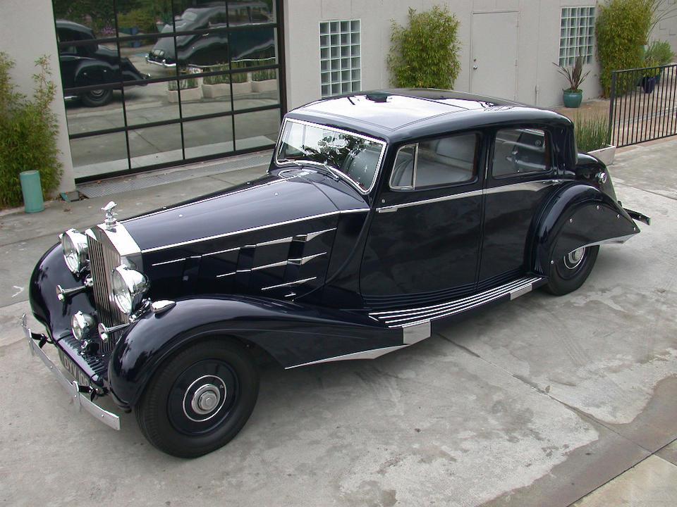 1937 Rolls-Royce Phantom III Enclosed Sports Limousine  Chassis no. 3BT85 Engine no. V88G