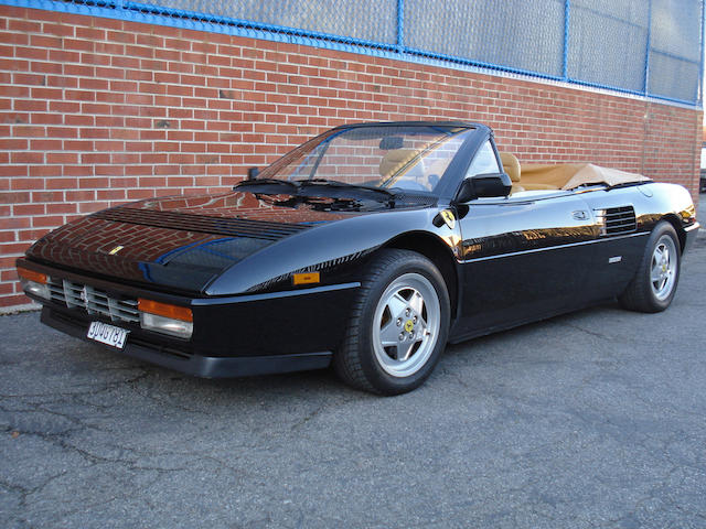 1989 Ferrari Mondial T Cabriolet  Chassis no. ZFFFK33A7L0087198