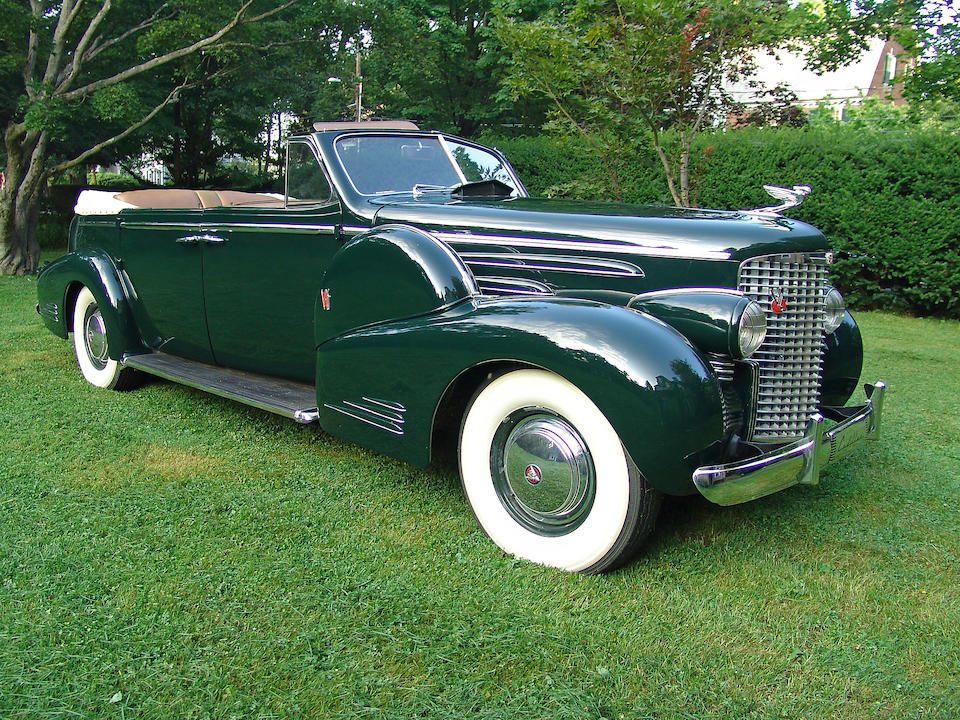 1939 Cadillac Series Series 90 V-16 Convertible Sedan