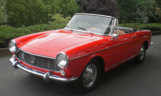 1964 Fiat 1500 Cabriolet  Chassis no. 28911