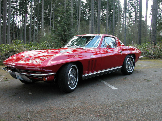 1966 Chevrolet 427 Corvette Coupe  Chassis no. 194376S114014