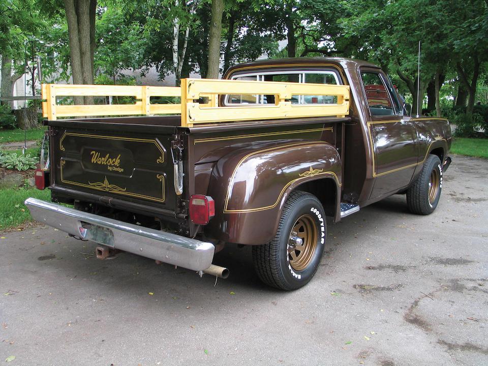 1979 Dodge D-100 Warlock 1/2-Ton Pickup  Chassis no. D13AP9S228574