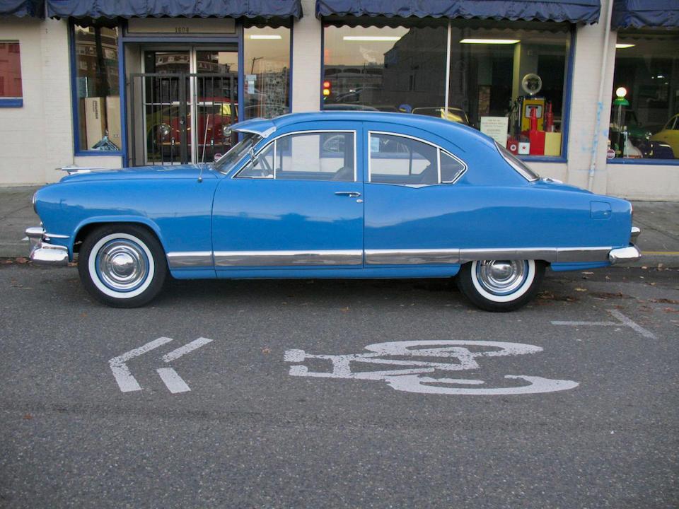 1951 Kaiser Deluxe 2-door Sedan  Chassis no. k512053514 Engine no. 1213785