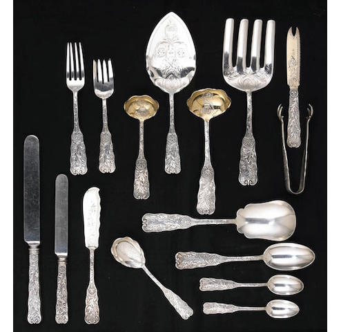 Sterling Assembled St Cloud Partial Flatware Set by Gorham