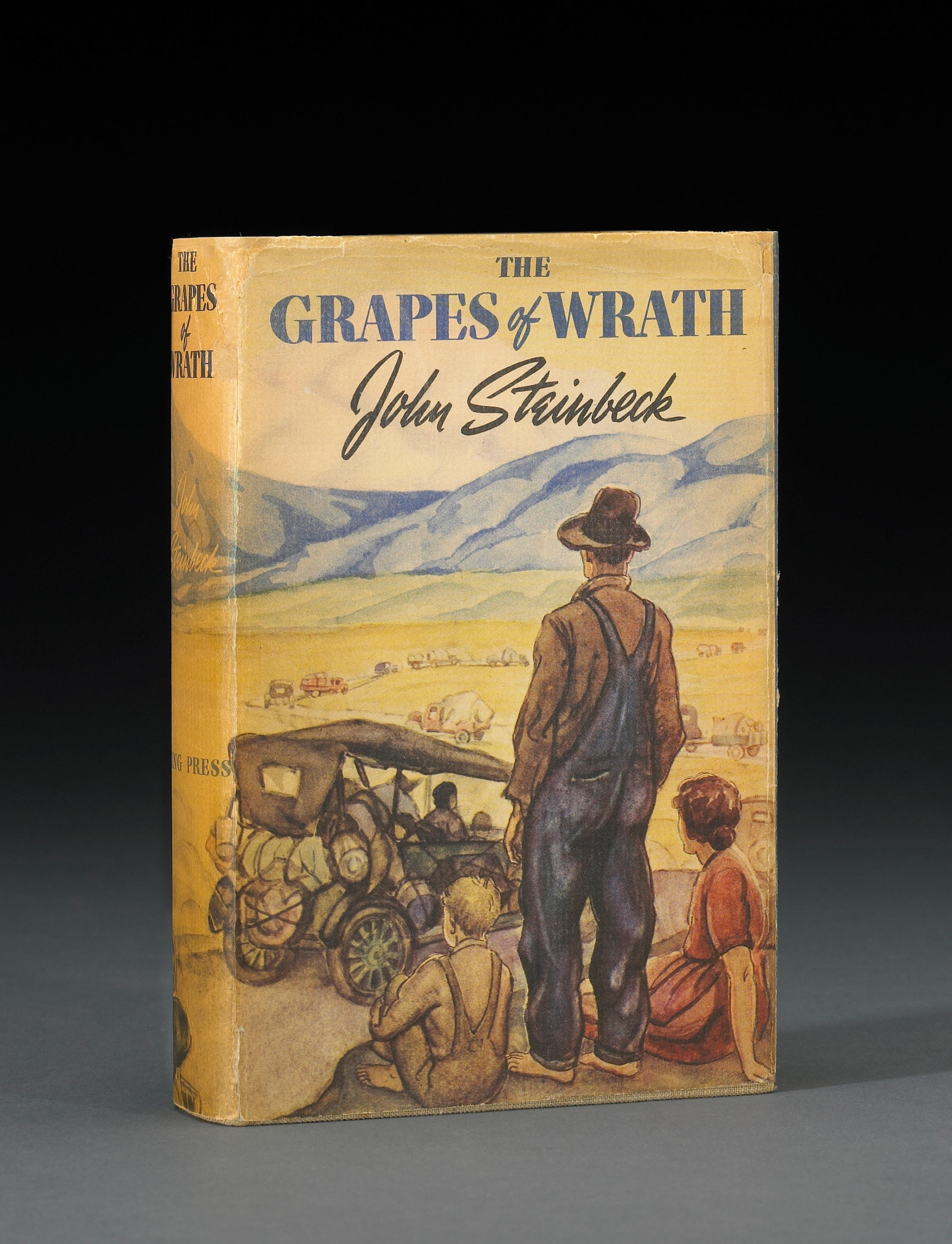 essay on the grapes of wrath Analyze tom joad's growth throughout the novel despite the fact that tom is not a young boy, does the novel have the characteristics of a bildungsroman, or coming-of-age story.