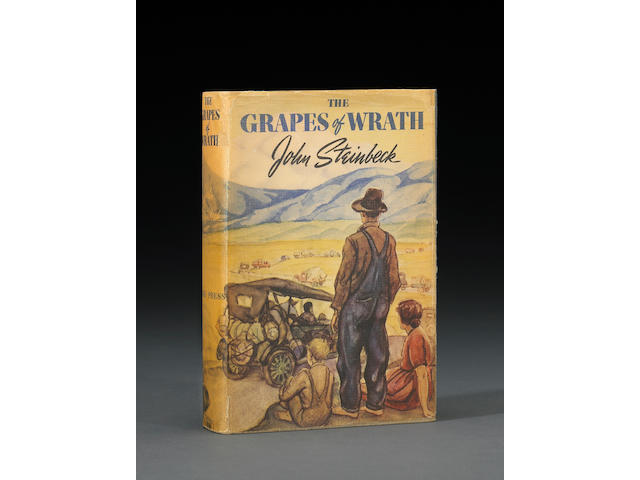 Steinbeck, John. The Grapes of Wrath. NY: 1939. Sgd to Daryl Zanuck.