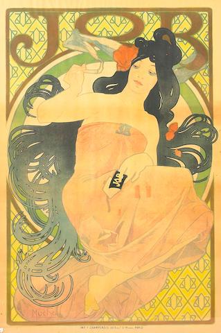 Alphonse Mucha (Czech, 1860-1939); Job;