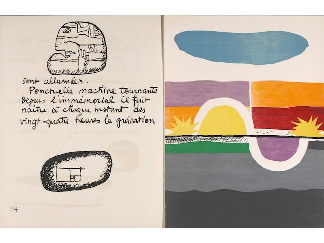 Le Corbusier.  Le Poeme.... W/ original prospectus & letter.