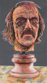 Robert Arneson (American, 1930-1992) W.T.W. Witness, 1980 51 x 30in