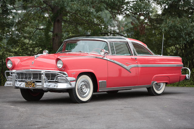 1956 ford fairlane crown victoria skyliner chassis no  m63w127235
