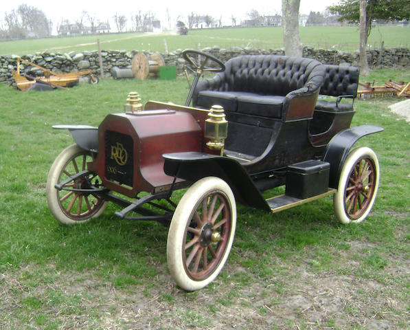 Sympathtic restoration of a ban discovery ,1906 REO Four Seater Runabout  Engine no. 16579