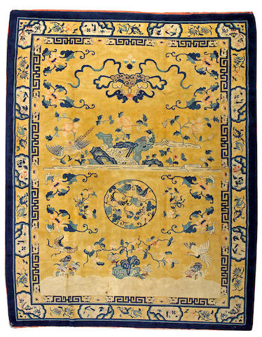 A Peking carpet size approximately 9ft. 5in. x 11ft. 10in.