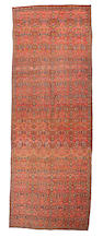 A Bidjar carpet Northwest Persia, size approximately 6ft. 4in. x 17ft. 7in.