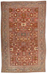 A Mahal carpet Central Persia, size approximately 10ft. 9in. x 17ft. 4in.
